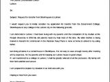 Cover Letter for the Post Of Lecturer Write An Application to Tranfer Of A Teachers Best