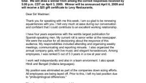 Cover Letter for Writing Contest Cover Letter Misspellings Contest