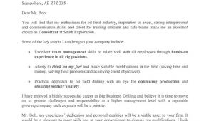 Cover Letter Sample for Oil and Gas Company Oil Field Cover Letter Sample Gt Gt Cando Career Coaching