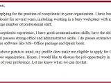 Cover Letter Samples for Receptionist Administrative assistant Cover Letter Examples for Receptionist Administrative