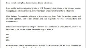 Cover Letter Should Be attached In the Email Cover Letter Template 20 Free Word Pdf Documents