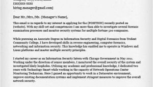 Cover Letter Tech Company Information Technology It Cover Letter Resume Genius