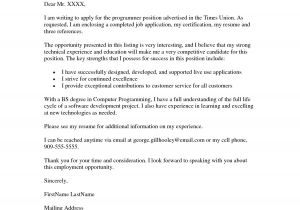 Cover Letter Template for Job Application Job Application Cover Letter Example Resumes Job