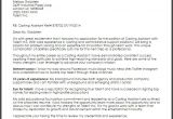 Cover Letter to Casting Director Cover Letter for Casting Director Position