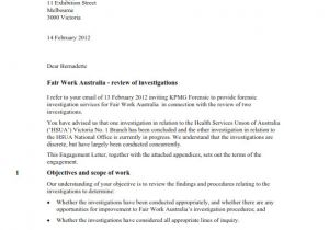 Cover Letter to Kpmg Letter Of Recommendation Help Sydney