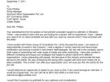 Cover Letter to Recruitment Agency Example Cover Letter to Recruitment Agency