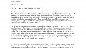 Cover Letter to Show Interest In Job How to Write A Cover Letter Of Interest Example for A Job