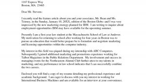 Cover Letters for Employment Opportunities Employment Cover Letter Template Wondercover Letter