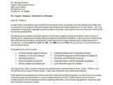 Cover Letters for Graphic Designers Graphic Designer Cover Letter Sample Monster Com