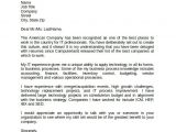 Cover Letters for It Professionals Information Technology Cover Letter Template 8 Download