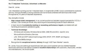 Cover Letters for It Professionals It Cover Letter Sample Monster Com