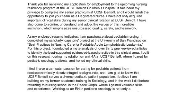 Cover Letters for Nursing Students Nursing Cover Letter Example 11 Free Word Pdf