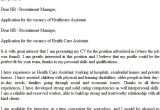 Covering Letter for Health Care assistant Health Care assistant Cover Letter Example Icover org Uk