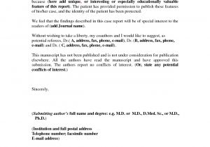 Covering Letter for Project Report Report Cover Letter Example Best Letter Sample