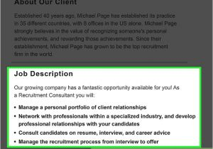 Covering Letter for Recruitment Consultant How to Write A Cover Letter for A Recruitment Consultant