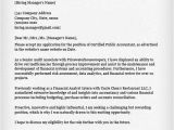 Cpa Cover Letter Examples Accounting Finance Cover Letter Samples Resume Genius