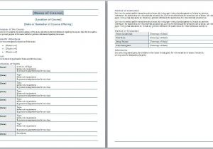 Create A Syllabus Template Course Syllabus Template Free Layout format
