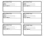 Create A Ticket Template Free Best 25 Printable Raffle Tickets Ideas On Pinterest