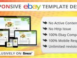 Create An Ebay Template Create Responsive Ebay Listing Template and Store Template