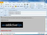 Create An Email form Template In Outlook 2010 Create Use Email Templates In Outlook 2010