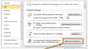 Create An Email Message Template In Outlook 2013 Create Email Templates In Outlook 2016 2013 for New