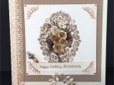 Create Anniversary Card with Photo 8×8 Wedding Anniversary Card Using Noble Collection Double