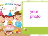 Create Anniversary Card with Photo Preview Image is Not Found Customized Birthday Cards with