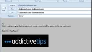 Create Custom Email Template Outlook 2010 Create Use Email Templates In Outlook 2010