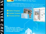 Create Flyer Template Online Easy Flyer Creator 3 0 to Design Business Flyers
