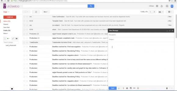Create HTML Email Template for Gmail Create An Email Template In Gmail No HTML No Coding Youtube