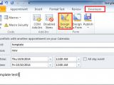 Create HTML Email Template Outlook 2013 How to Create Appointment or Meeting Template In Outlook