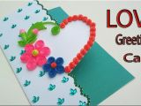 Create Love Card with Name Love Greeting Card Making Fire Valentine All About Love