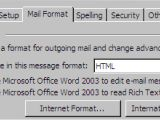 Create Outlook Email Template 2007 Create An Email Template In Outlook 2003
