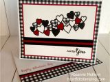 Create Valentine Card with Photo Bold Gingham Valentine Valentine Love Cards Cards