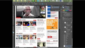 Create WordPress Template From HTML Create WordPress News Template Part Two HTML Markup