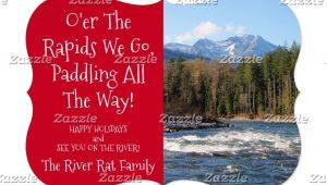Create Your Own Christmas Card Custom River Runners Photo Christmas Card Add Your Own River
