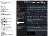 Create Your Own WordPress Template WordPress theme Generator Create Your Own WordPress