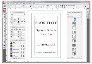 Createspace Interior Templates Customize Prepare One Of My Indesign Template S to Help