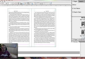 Createspace Interior Templates Producing A Createspace Interior File with Indesign and A