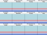 Creating A social Media Calendar Template social Media Calendar Template Cyberuse