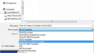 Creating Word Templates 2013 How to Create A Template In Word 2013 Tutorials Tree