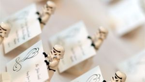 Creative Card Holders for Weddings Our Place Card Holders Made From Lego Stormtroopers