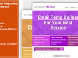 Creative Email Marketing Templates Creative Business Email Template Responsive by