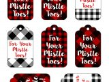 Creative Gift Card Basket Ideas for Your Mistle toes Gift Tag Printable Spa Gift Basket