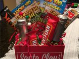 Creative Gift Card Basket Ideas Lottery Ticket Secret Santa Gift Added Little Champagne