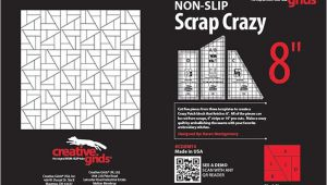 Creative Grids Scrap Crazy Template Creative Grids Scrap Crazy 8 Inch Templates