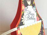 Creative Handmade Birthday Card Ideas for Husband Happy Birthday Apron Cook Chef Baker Card for A Woman