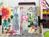 Creative Home Hallmark Card Studio Mixed Media Collage In My Art Journal In 2020 Art Journal