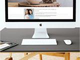 Creative Interior Design Name Card Karimacreative Desktop Website Mockup for the Home Sanctuary