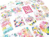 Creative Memories Everyday Card Kit Pink Paislee Memorydex Paige Taylor Evans
